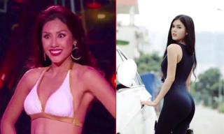 Tin sao Việt mới 26/10: Nguyễn Thị Loan trợn mắt khi trình diễn bikini, 'bản sao' Ngọc Trinh khoe vòng ba gợi cảm
