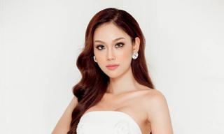 Phương Linh xinh đẹp, kiêu sa khi diện đầm dạ hội trắng
