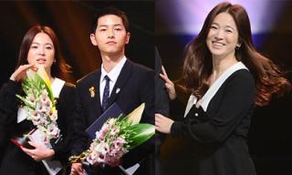 Song Hye Kyo xuống sắc, kém đẹp đôi khi đứng cạnh Song Joong Ki