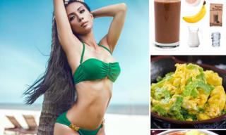 Huyền Ny gợi ý chế độ ăn tốt cho sức khỏe tỉ mỉ tới từng chi tiết