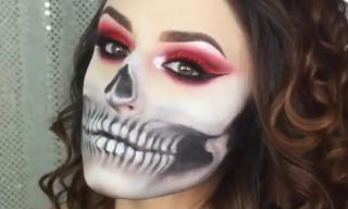 Phong cách trang điểm 'ma quái' cho ngày Halloween