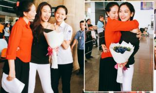 Á khôi Phương Linh về nước sau cuộc thi Hoa hậu Quốc tế 2016