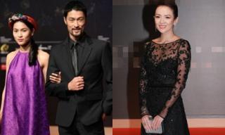 Johnny Trí Nguyễn - Nhung Kate xuất hiện sang chảnh cùng Chương Tử Di