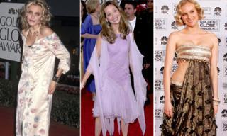 Những chiếc váy xấu tệ hại của sao trong lịch sử Quả Cầu Vàng