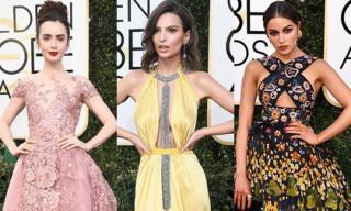 Dàn mỹ nhân Hollywood khoe sắc quyến rũ trên thảm đỏ Quả cầu vàng 2017