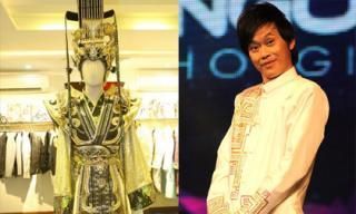 Để sắm vai Ngọc Hoàng, Hoài Linh phải mặc trang phục nặng 10kg