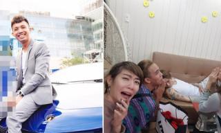 Hot girl và hot boy Việt 20/1/2017: Minh Nhựa tậu siêu xe, BB Trần bị bạn bè dìm hàng khi ngủ