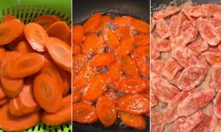 Cách làm mứt cà rốt đơn giản cực ngon
