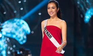Lệ Hằng xinh đẹp và rạng rỡ tham gia tổng duyệt trước chung kết Hoa hậu Hoàn vũ 2016