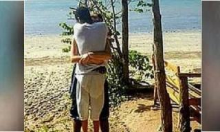 Đăng ảnh 2 vợ chồng ôm nhau, nhưng ai nấy đều kinh ngạc khi phát hiện ra điều này...