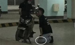 Thanh niên quỳ gối trước bạn gái nửa tiếng còn bị ăn tát liên hoàn