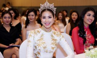 Đội vương miện Hoa hậu Hoàn vũ trên đầu, Phạm Hương khẳng định không ai lấy được