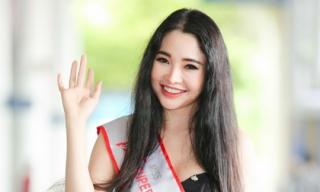 Đại diện Việt Nam giành danh hiệu Á hậu Siêu tài năng Thế giới 2017