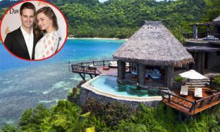 Miranda Kerr và CEO Evan Spiegel nghỉ trăng mật trên hòn đảo siêu sang