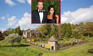 Khám phá biệt thự tráng lệ rộng gấp 380 sân bóng của vợ chồng David Beckham
