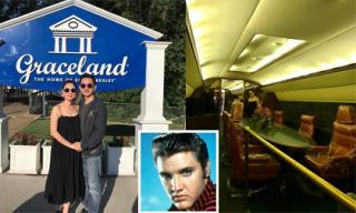 Thanh Thảo khám phá bên trong máy bay riêng của ca sĩ nổi tiếng Elvis Presley