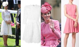 Đồ hiệu đẳng cấp 'vượt mặt' các minh tinh của Công nương Kate Middleton