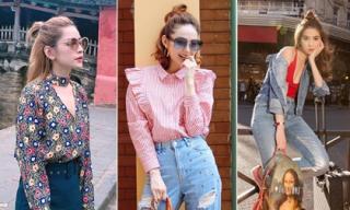Kiểu tóc nào đang gây sốt hè 2017 mà sao Việt cũng không ngoại lệ?