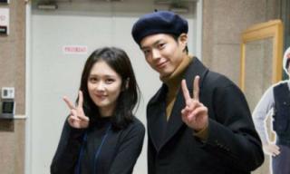 """Jang Nara bất ngờ bị đồn làm đám cưới với """"đàn em"""" Park Bo Gum"""