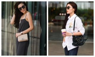 Hoa hậu Kỳ Duyên mang cả 'bản đồ thời trang' vào street style