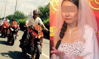 Đang trao nhẫn cho cô dâu thì một thanh niên phong độ bước đến làm một hành động khiến cả họ nhà trai bỏ về