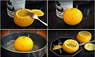 Đem cam hấp muối rồi ăn, ho khan ngứa cổ lâu ngày khỏi ngay