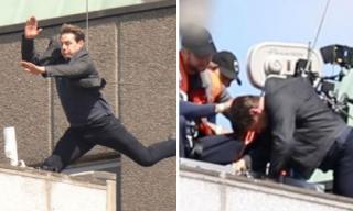Tom Cruise gặp tai nạn khi thực hiện cú nhảy nguy hiểm cho 'Nhiệm vụ bất khả thi 6'
