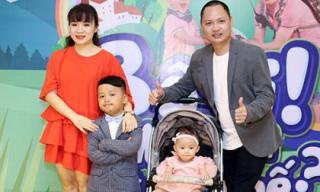 Nhạc sĩ Nguyễn Hải Phong lần đầu khoe hai con trong 'Bố ơi! Mình đi đâu thế?'