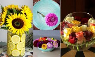 Mẹo hay: Ba ý tưởng cắm hoa kiểu mới tuyệt đẹp