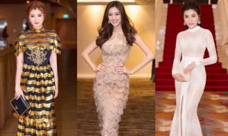 Sao Việt lộng lẫy và tỏa sáng trong trang phục dạ hội của Đức Vincie