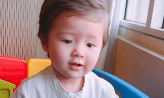 Con trai Elly Trần bảnh bao như hot boy nhí