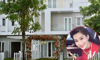 Hoa hậu Thu Thảo xây nhà to đẹp cho bố mẹ trước khi lấy chồng đại gia