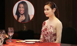 Thí sinh Hoa hậu Hoàn vũ Việt Nam khiến Phạm Hương cười ngặt nghẽo khi giới thiệu mình... 59 tuổi