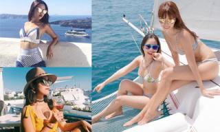 Cô em gái nóng bỏng có cuộc sống sang chảnh của siêu mẫu Hà Anh