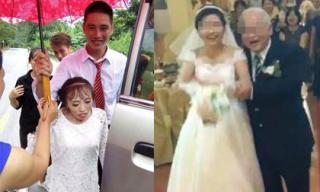 Khách mời 'đứng hình', dân tình xôn xao vì đám cưới của các cặp đôi 'đũa lệch'