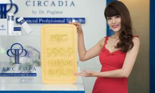 Trúng một lượng vàng SJC 9999 cùng Circadia