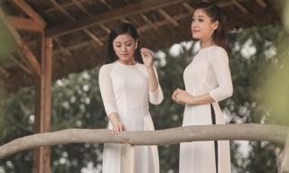 Chị em Sao Mai Thu Hằng - Bích Hồng khoe vẻ đẹp chân quê, mộc mạc