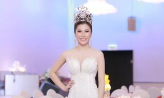 Hoa hậu Lâm Hải Vi xuất hiện tại Việt Nam sau khi đăng quang Hoa hậu tại Nhật