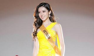 Huyền My giành được vị trí đẹp trong đêm chung kết Miss Grand International 2017