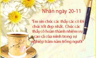 Tổng hợp mẫu lời chúc 20/11 hay và ý nghĩa gửi tới thầy cô ngày nhà giáo Việt Nam
