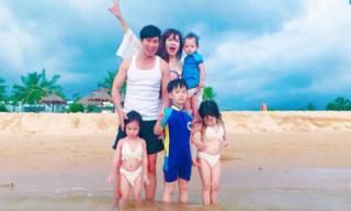 Vợ chồng Lý Hải – Minh Hà kỷ niệm 7 năm ngày cưới bên 4 nhóc tì đáng yêu