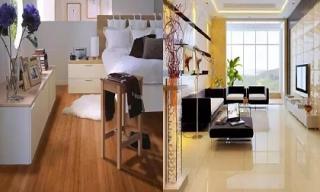 Sàn gỗ hay sàn gạch tốt hơn? Hãy đọc để tránh chọn sai khiến cả đời hối hận