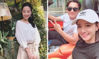 Hot girl và hot boy ngày 21/11/2017: Bạn gái Phan Thành khoe nhan sắc xinh đẹp, Mai Tài Phến hội ngộ với 'em gái mưa'