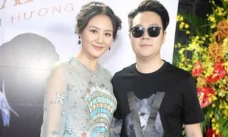 Sau 3 năm chia tay, bạn trai cũ Lê Hiếu đến chúc mừng Văn Mai Hương ra mắt sản phẩm âm nhạc