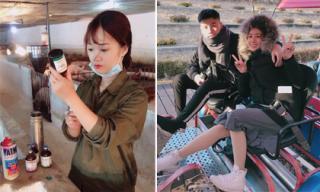 Hot girl và hot boy ngày 24/11/2017: 'Cô gái chăn lợn' gây 'bão mạng' vì quá xinh, Trang Lou đi Hàn cùng chồng