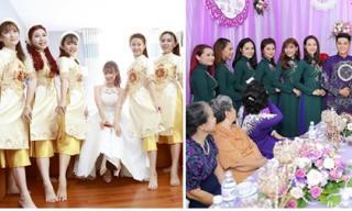 Choáng ngợp trước dàn đội lễ khủng trong đám cưới sao Việt