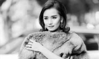 Lã Thanh Huyền hóa quý cô thập niên 1960 trong loạt hình đen trắng