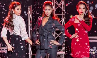 'Tuổi trẻ tài cao', Kỳ Duyên đánh bại gu thời trang của Phạm Hương - Minh Tú tại The Look Vietnam