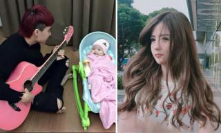 Hot girl và hot boy ngày 4/12/2017: Quyết Đại ca 5S Online bật mí cách trông con 'bá đạo', Khánh An xinh như búp bê