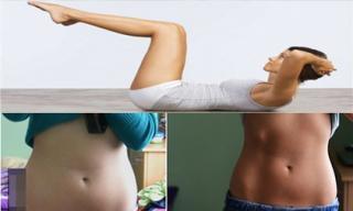 Hết ngay nỗi lo béo bụng nếu tối nào cũng làm động tác này 50 lần trước khi ngủ